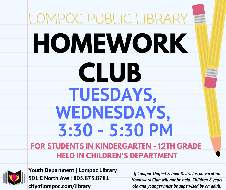 Homework Club is back