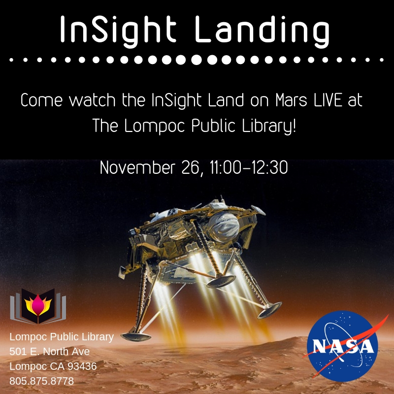 Insight Landing LIVE Viewing