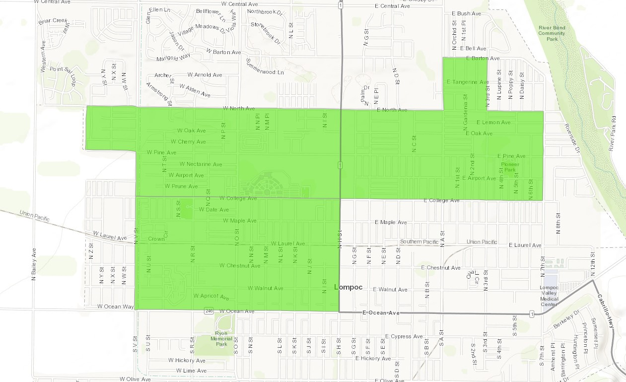 Opportunity Zones | Lompoc, CA on