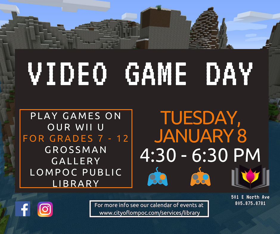 January Video Game Day