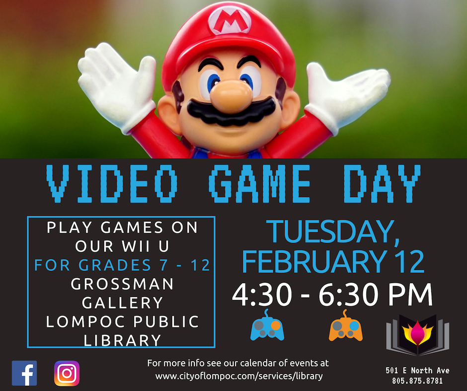 February Video Game Day