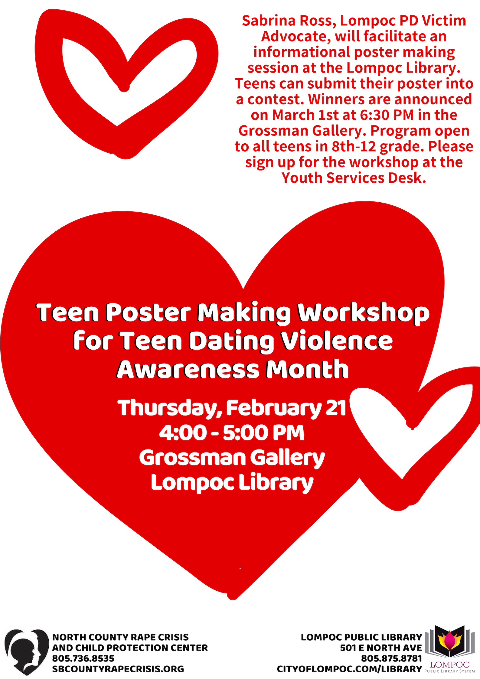 Feb21 Teen Poster Workshop