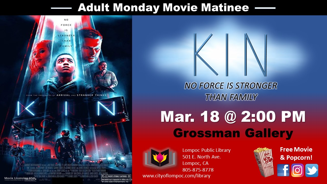 Adult Movie Monday Matinee | Library Calendar of Events