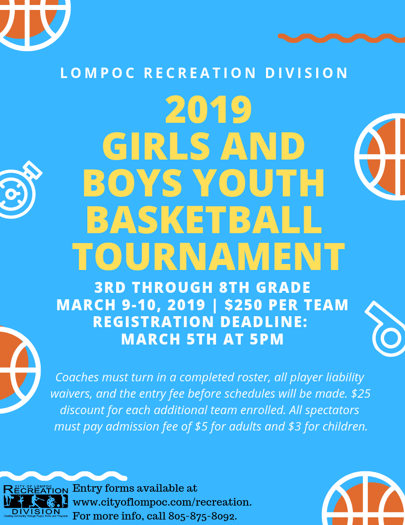 2019 Youth Basketball Tourney