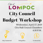 April 17 budget workshop