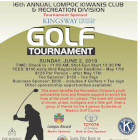 Lompoc Kiwanis And Recreation Golf Tournament