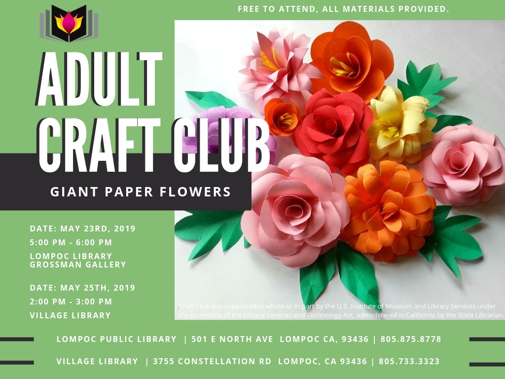 Adult Craft Club