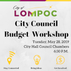 Lompoc City Council Budget Workshop