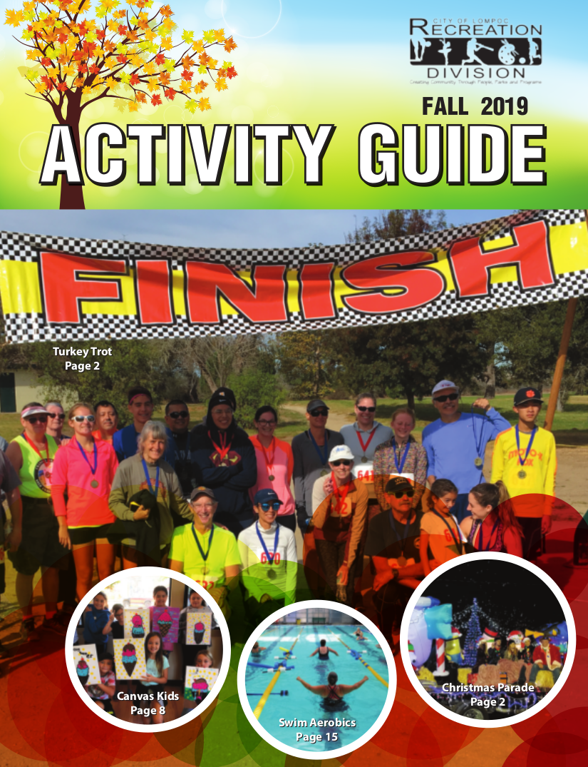 Fall Recreation Guide Now Available