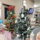 Library Tabletop Christmas Trees Fundraiser Underway