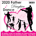 2020 Father Daughter Dance flyer