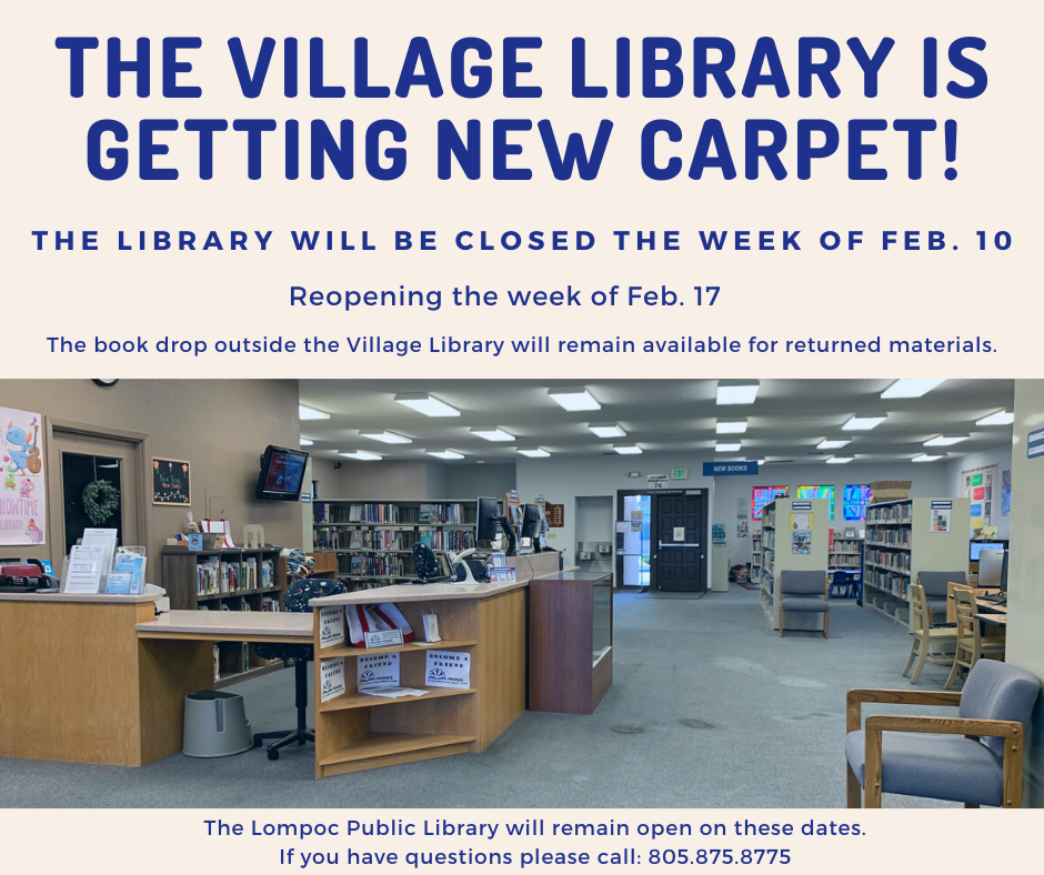 The Village library will be closed (1)