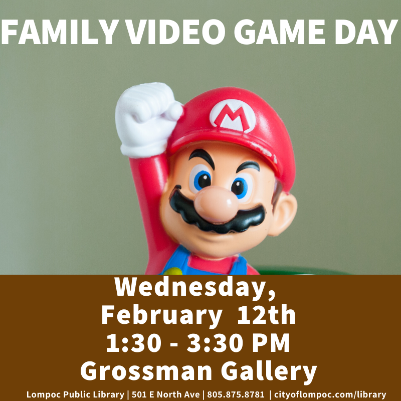 Family Video Game Day